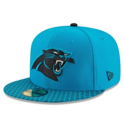 11462098_Casquette NFL Carolina Panthers New Era On Field 2017 59FIFTY bleu
