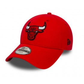 11493400_Casquette NBA Chicago Bulls New Era essential 9forty rouge pour enfant