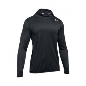 Under armour Reactor Pull Over Hoodie negro para hombre