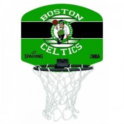 Spalding Mini panier Boston Celtics Vert