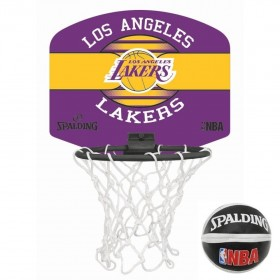 Spalding Mini panier Los Angeles Lakers Violet