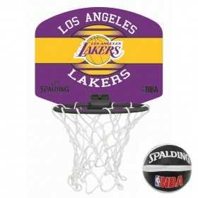 Spalding Miniboard Los Angeles Lakers Violet