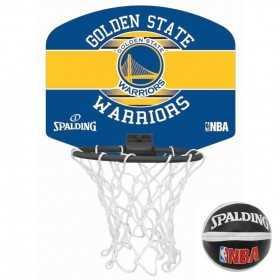 Spalding Miniboard Golden State Warriors Bleu