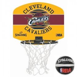 Spalding Mini panier Cleveland Cavaliers Rouge