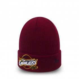 80524595_Bonnet NBA Cleveland Cavaliers Essential Rouge sans pompon