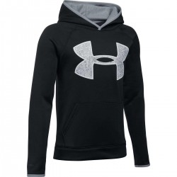 Sweat à Capuche Under Armour enfant AF Big Logo Noir