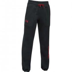 Pantalon de Jogging Under Armour Branded Enfants Noir