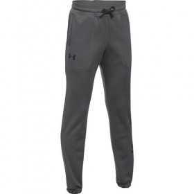 1299350-040_Pantalon de Jogging Under Armour Branded Enfants gris