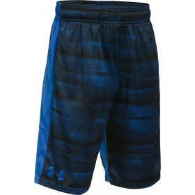 1299998-908_Short Under armour Stunt Printed Bleu pour enfant