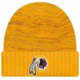 11461019_Bonnet NFL Washington Redskins On Field 2017 New Era Knit Rush jaune