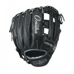 """WTLOMRB17115_Gant de Baseball Louisville Slugger Omaha 11.5"""" Noir"""