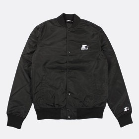 Jacket Nylon Starter Black