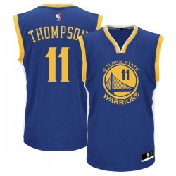 Maillot NBA Klay Thompson Golden States Warriors bleu pour Junior