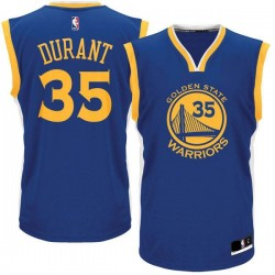Maillot NBA Kevin Durant Golden States Warriors bleu pour Junior