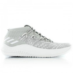 BY4495_Chaussures de Basketball adidas Dame 4 gris pour homme