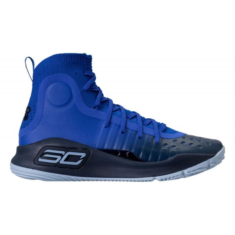 1298306,401_Chaussure de Basketball Under Armour Curry 4 Away Bleu pour  homme