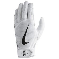 NBG01102_Gant de Batting Nike Huarache Edge blanc