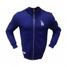 11493603_Veste Zippé MLB Los Angeles Dodgers New Era Team Apparel bleu
