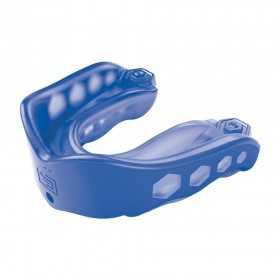Protège dents Shock Doctor Gel Max avec strap Bleu