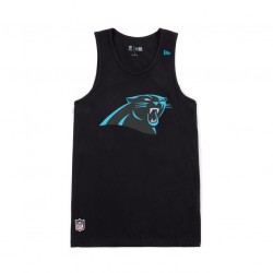 débardeur NFL Carolina Panthers New Era Team App logo tank pour Homme