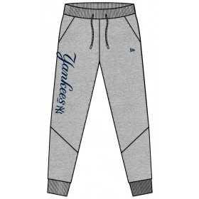 11493609_Pantalon MLB New York Yankees New Era Team Apparel Fleece Gris pour homme