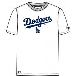 11493596_T-shirt MLB Los Angeles Dodgers New Era Team APP 2017 Blanc