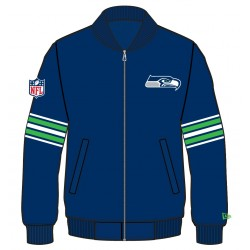 11493619_Bomber NFL Seattle Seahawks New Era Team Apparel Bleu