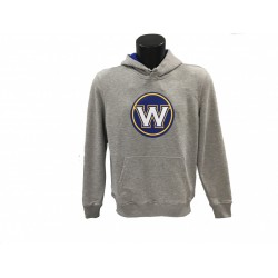 11530727_Sweat à capuche NBA Golden State Warriors New Era Tip Off Gris pour Homme