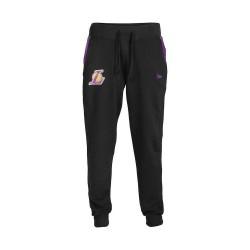 11530733_Pantalon NBA Los Angeles Lakers New Era Tip Off Fleece Track Noir pour Homme
