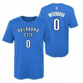 EK2B7TD99B01RW_T-shirt NBA Russell Westbrook Oklahoma Thunders Bleu pour enfant