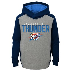 EK2B7BBAP_Sweat à capuche NBA Oklahoma Thunders Gris pour enfant