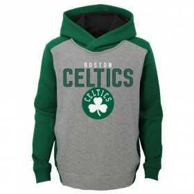 EK2B7BBAPCEL_Sweat à capuche NBA Boston Celtics Gris pour enfant