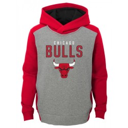 EK2B7BBAPBUL_Sweat à capuche NBA Chicago Bulls Gris pour enfant