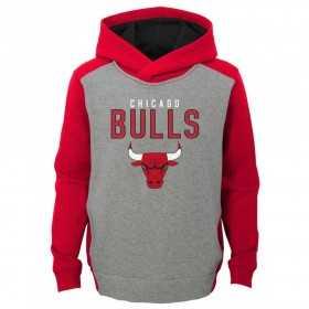 EK2B7BBAPBUL_Sweat à capuche NBA Chicago Bulls Gris pour enfant