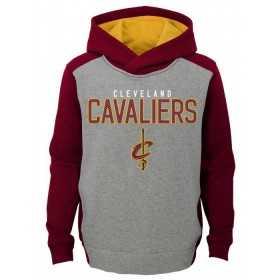 EK2B7BBAPCAVS_Sweat à capuche NBA Cleveland Cavaliers Gris pour enfant
