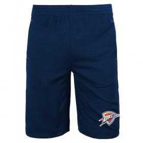 EK2B7BBALThu_Short NBA Oklahoma Thunder Bleu pour enfant