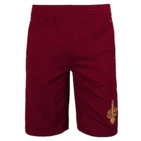 EK2B7BALCAVS_Short NBA Cleveland Cavaliers Rouge pour enfant