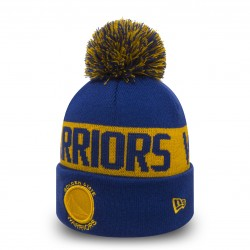 80524579_Bonnet NBA Golden State Warriors New Era Team Tonal Bleu avec pompon