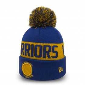 80524579_Bonnet NBA Golden State Warriors New Era Team Tonal Bleu avec pompon