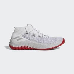 CQ0471_Chaussures de Basketball adidas Dame 4 Blanc et rouge pour homme