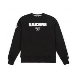 11493614_Sweat NFL Oakland Raiders New Era Team apparel Crew Neck noir pour homme
