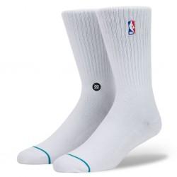 M526D17LOG-WHT_Chaussettes de Basketball NBA Stance Arena Logoman Crew Blanc