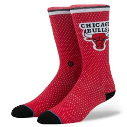 M545D17BUL_Chaussettes Stance NBA Arena Chicago Bulls Jersey Rouge