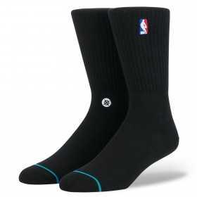 M526D17LOG-BLK_Chaussettes de Basketball NBA Stance Arena Logoman Crew Noir