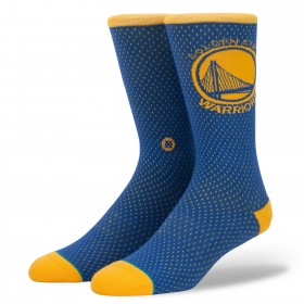 M545D17WAR_Chaussettes Stance NBA Arena Golden State Warriors Jersey Bleu