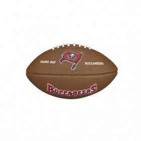 WTF1533TB_Mini ballon de Football Américain Wilson NFL team logo Tampa Bay Buccaneers