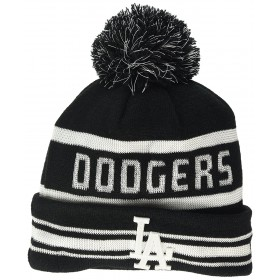 80044506_Bonnet MLB New York Yankees à pompon New Era Blockstripe Bleu