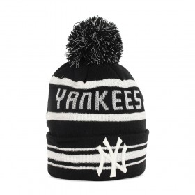11082229_Bonnet MLB New York Yankees à pompon New Era Fashion Jake Noir