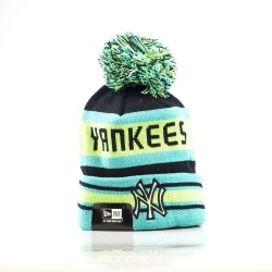 11082227_Bonnet MLB New York Yankees à pompon New Era Fashion Jake vert