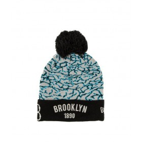 11104353_Bonnet MLB Brooklyn Dodgers 1890 à pompon New Era ElephantTop Noir gris